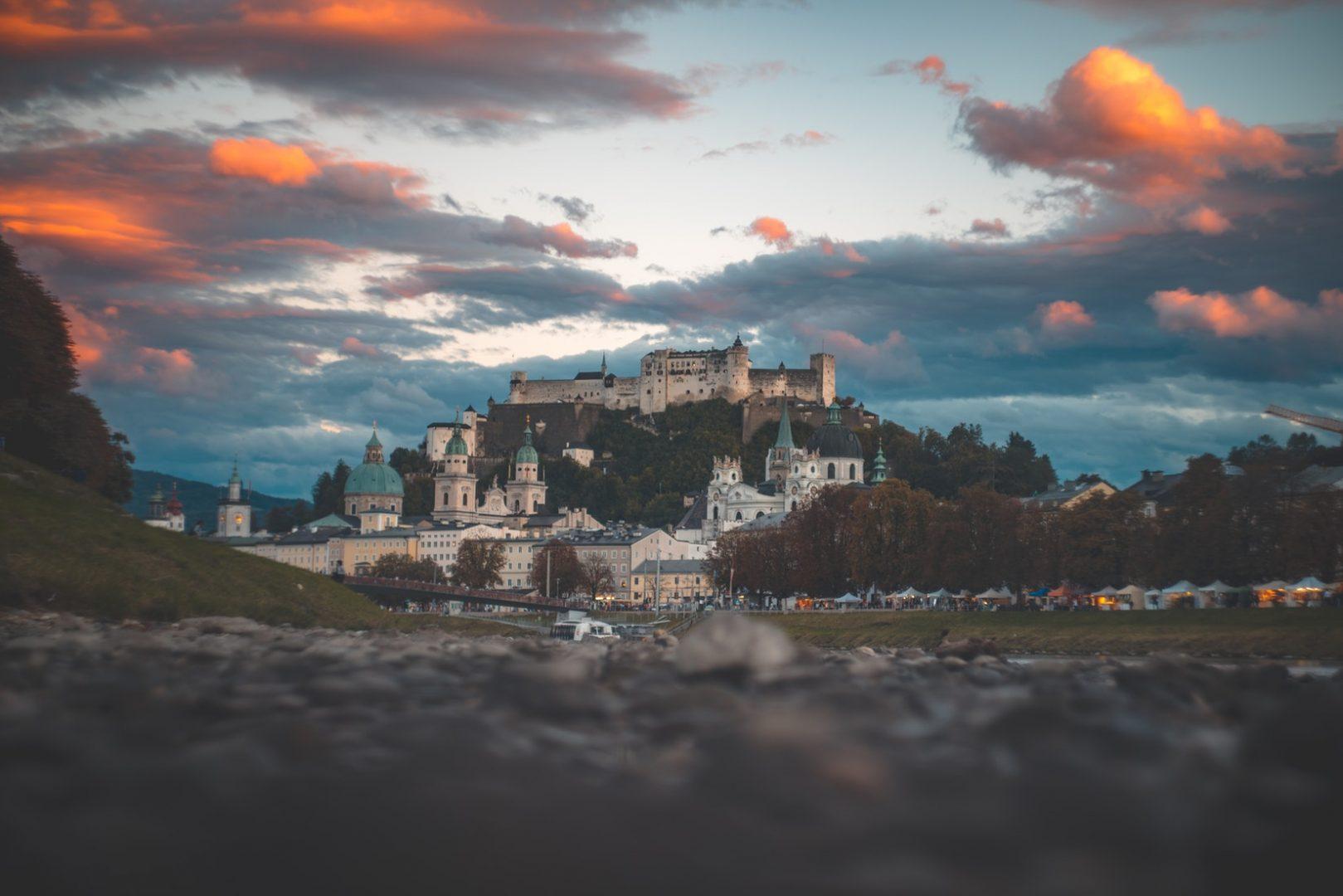 Ein Bild von der Salzburger Festung