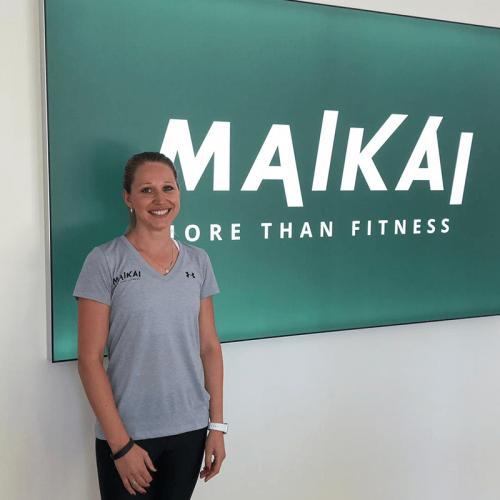 Charleen bei Maikai more than fitness Fitnesstrainerin