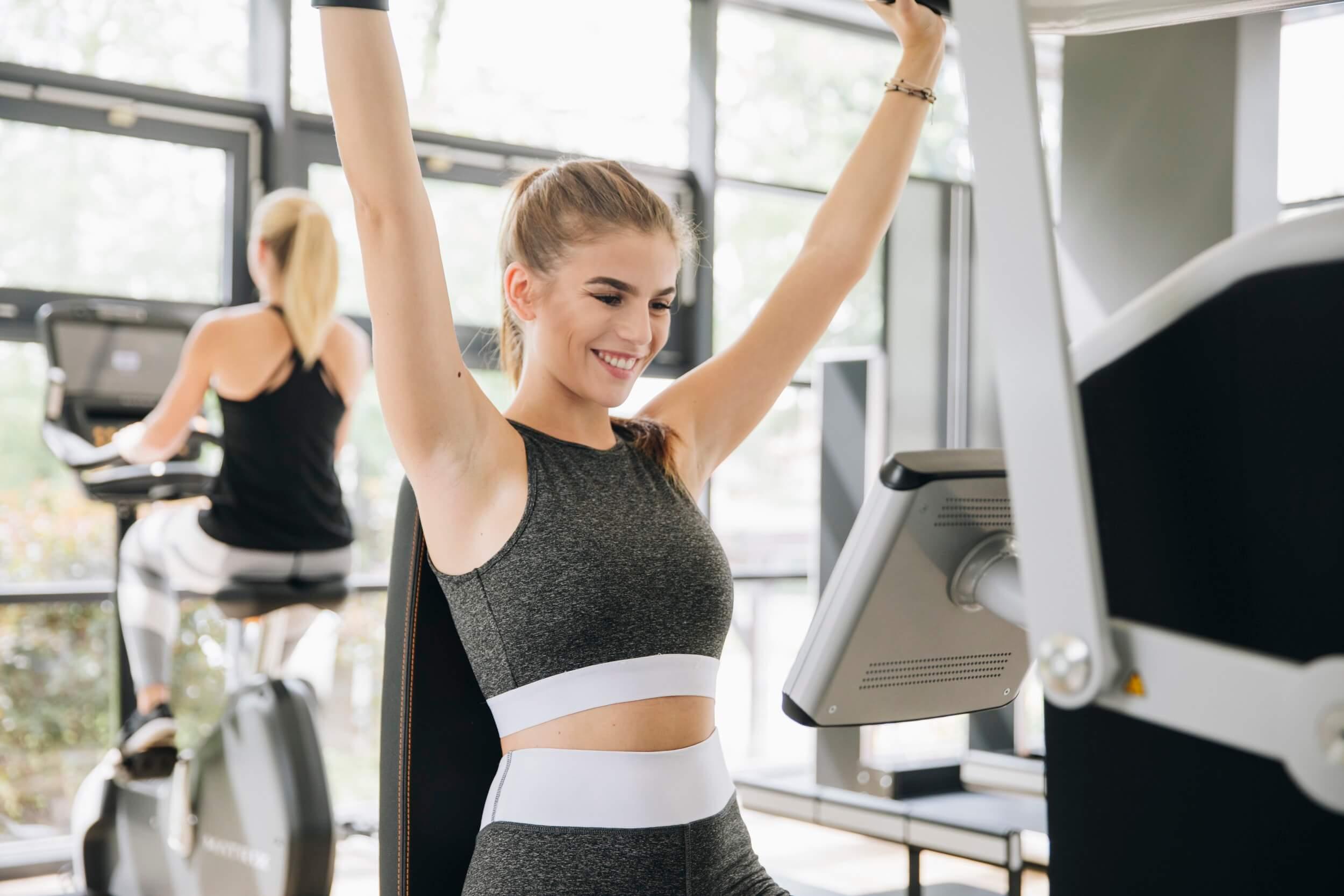 Spaß beim Training im MAIKAI Fitness