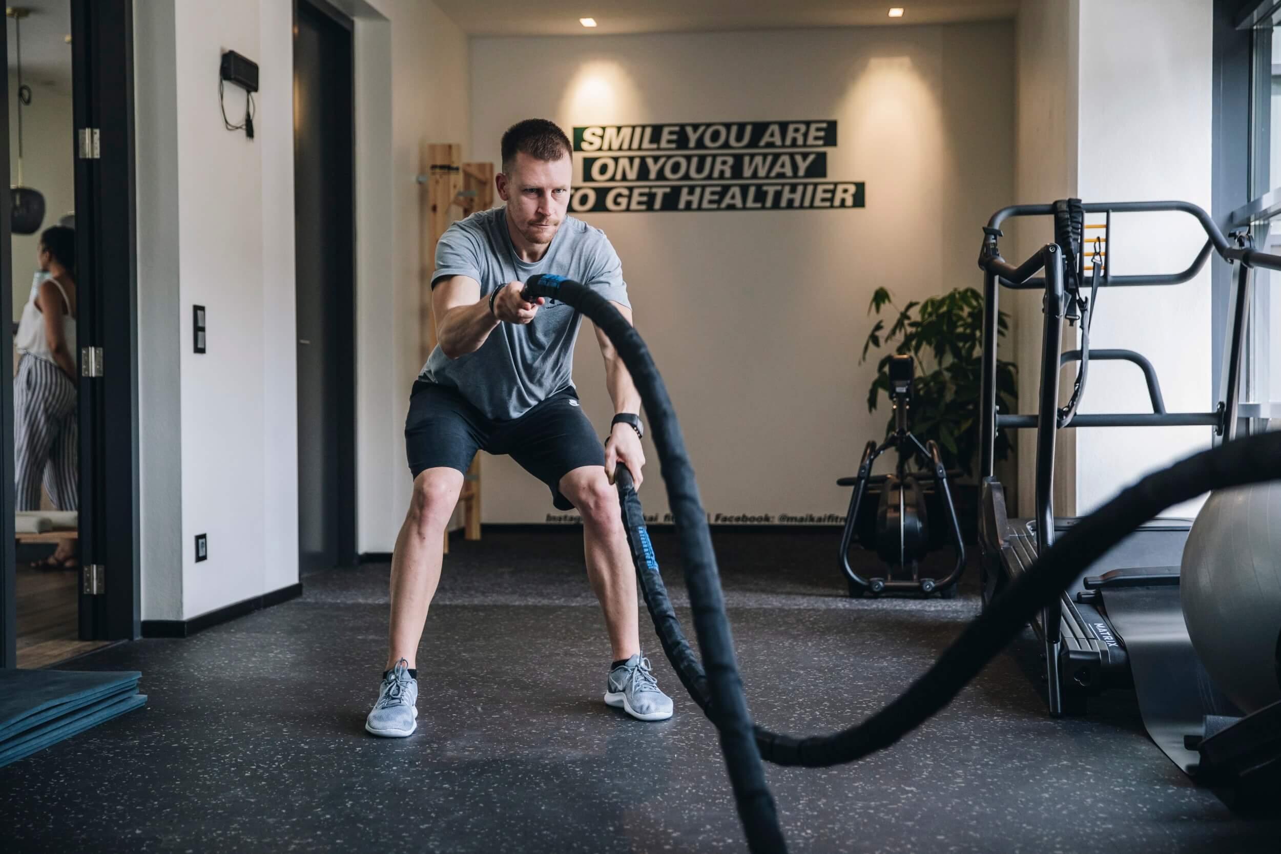 Ropes Swing bei MAIKAI Fitness