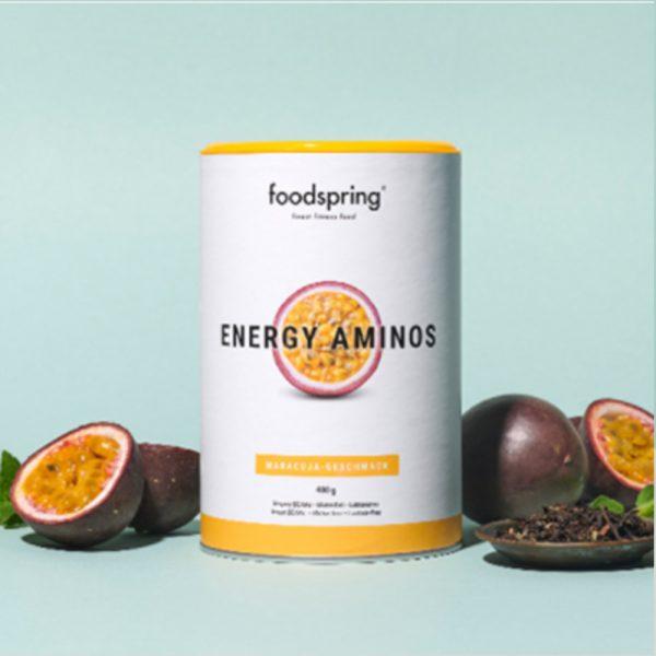 foodspring energy aminos maracuja
